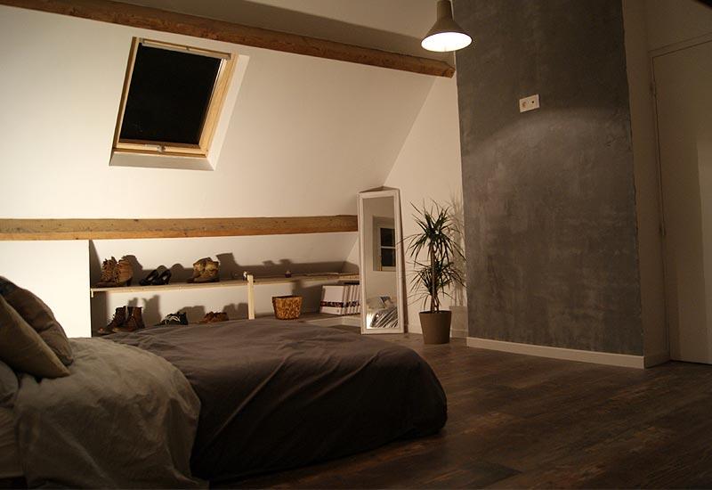 Architecture- intérieur Appartement -vue 1