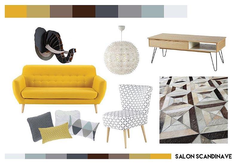 Décoration d'intérieur : planche tendance & accompagnement shopping