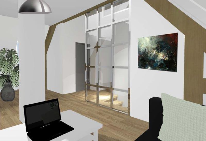 Architecture intérieur, aménagement de combles - Vue 4