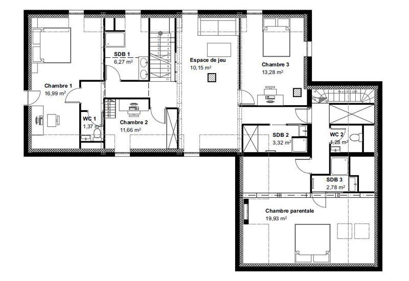 Architecture intérieur, aménagement de combles - Vue 7