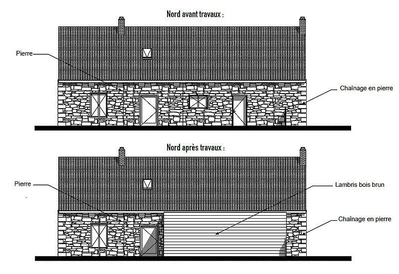 Architecte restaurant : plan 2